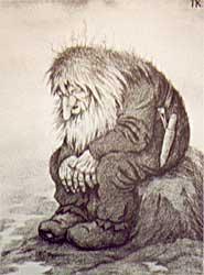 Oude trol