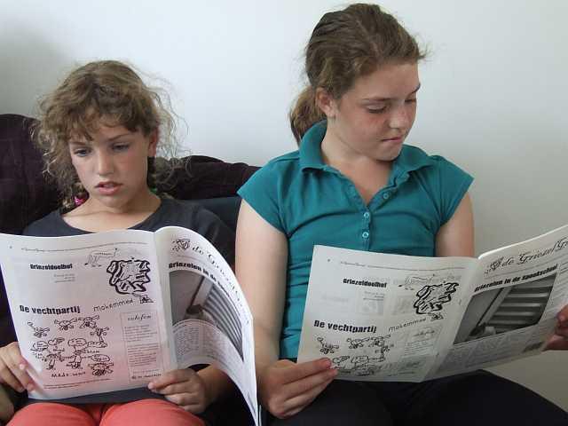 Suus & Roos lezen De Griezelgraaf