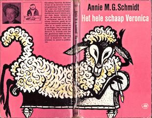 Het hele schaap Veronica, cover