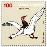 Postzegel Nils Holgersson