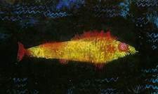 Paul Klee, Der Goldfisch (fragment)