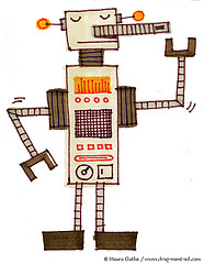 Beige robot - fragmented @ Flickr, CC by-nc-nd