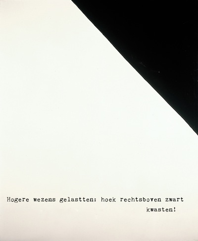 Hogere wezens gelastten - Sigmar Polke (1969), vertaling © Judy Elfferich, all rights reserved