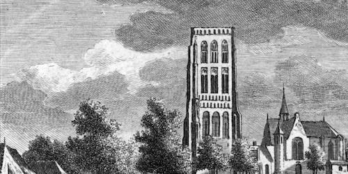De Vughtse toren in 1790