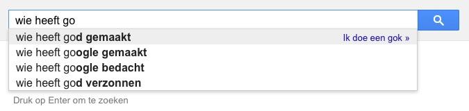 wie heeft go (Google-poëzie)