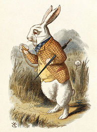 The White Rabbit (Tenniel)