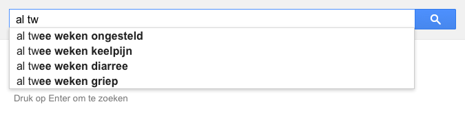 al tw (Google-poëzie)