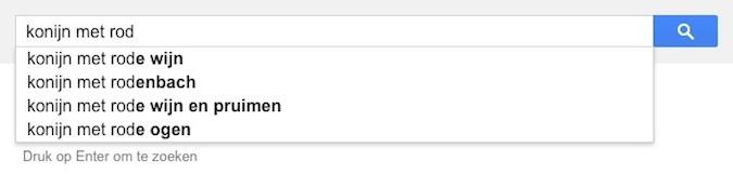 konijn met rod (Google-poëzie)