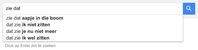 zie dat (Google-poëzie)