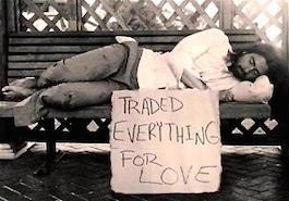 Alles voor de liefde (fotograaf onbekend)