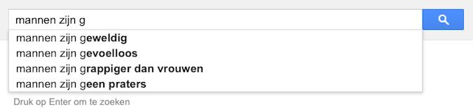 mannen zijn g (Google-poëzie)