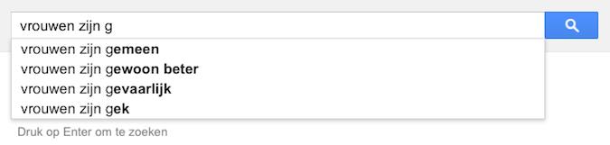 vrouwen zijn g (Google-poëzie)