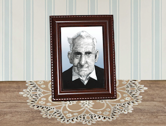 oom Hendrik Groen - illustratie: collage JudyElf, CC by-nc-sa