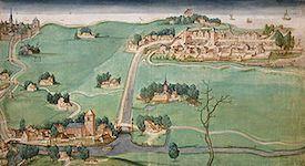 kaart van de drie Schieën (1512)