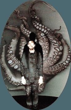 Inktvis-zelfportret - foto: Arne Hendriks @ Flickr, CC by (bewerkt door JudyElf)