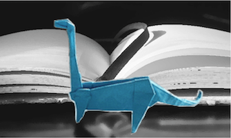 Bibliodocus - foto: Tavin's origami @ Flickr, CC by (bewerkt door JudyElf)