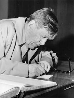 W.H. Auden in de jaren zestig