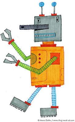 Meerkleurenrobot - fragmented @ Flickr, CC by-nc-nd