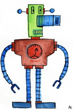 Driekleurenrobot - fragmented @ Flickr, CC by-nc-nd
